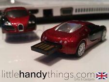 Supercar 8GB USB Bugatti Flash Drive Portable Pen Drive Memory/Stick Gift