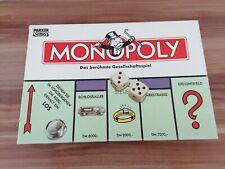 Monopoly - Das berühmte Gesellschaftsspiel - Parker - 1996 - TOP + Ersatz