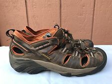 Keen Arroyo II Mens Hiking Sandals Brown Leather Orange US 9 EUR 42 $120