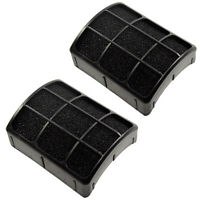2-Pack HQRP Exhaust Filter for Dirt Devil Upright Vac F111 440010557 Replacement