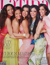 ROSELYN SANCHEZ  DANIA RAMIREZ  JUDY REYES  ANA ORTIZ May 2014 LATINA Magazine
