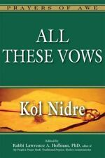 All These Vows: Kol Nidre (Hardback or Cased Book)