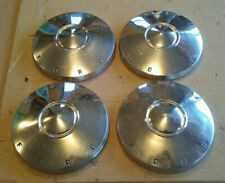 62 1962 Ford Fairlane Dog Dish Poverty Hubcaps 9 12 Fairlane Only Set Of 4 Fits Fairlane