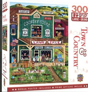 The Old Country Store 300 Piece Large EZ Grip Jigsaw Puzzle