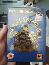 CANIS CANEM EDIT, BULLWORTH ACADEMY - PS2 GAME. INSTRUCTION BOOKLET INCLUDED