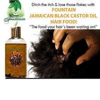 Jamaican Black Castor Oil Hair Food/Peppermint Hair Loss & Dry Scalp Reversal