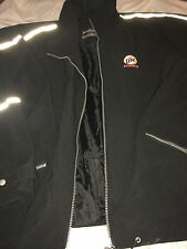 Miller Lite Racing Jacket Black Weatherproof Garment Company