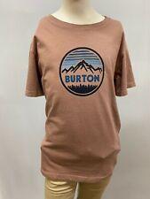"""New Burton Kids """"Mountain Forest"""" Short Sleeve T-Shirt, Mauve, Gray XS- XL"""