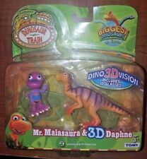 New Dinosaur Train Mr. Maiasaura & Daphne 3D DinoVision by Tomy X-Ray Reveal