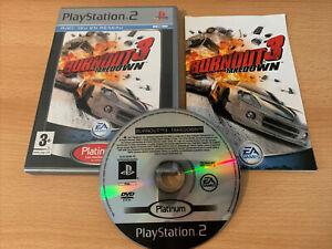 Burnout 3 Takedown Platinum - Jeu Sony PlayStation 2 PS2 - Complet Avec Notice