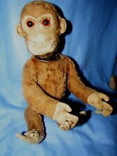 VINTAGE ANTIQUE MONKEY CHIMP YES NO TEDDY BEAR  RARE EARLY STEIFF BING SCHUCO ?
