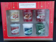 Yankee Candle Pack of 6 Yankee Christmas Votive Candles Gift Set