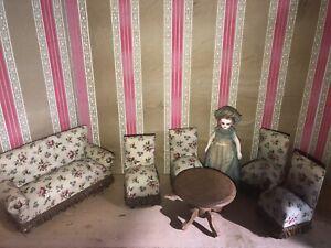 Joli Salon Pour Poupée Mignonnette Ancien