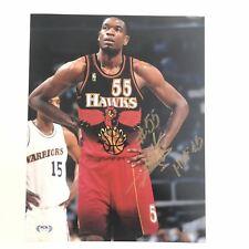 Dikembe Mutombo signed 11x14 photo PSA/DNA Atlanta Hawks Autographed