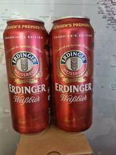 Two Erdinger Liverpool Jürgen Klopp Beer 500ml Cans LIMITED EDITION (Unopened)