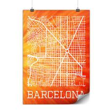 Spain City Barcelona Matte/Glossy Poster | Wellcoda