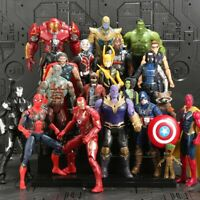 Marvel Avengers Infinity War 15cm Action Figures Toys Super Heroes Kid Collect
