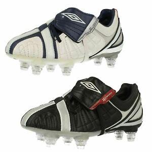 Garçons Umbro Moulé Clou Chaussures de Foot X-500-J