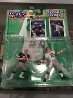 1997 STARTING LINEUP CLASSIC DOUBLES ROGER STAUBACH TROY AIKMAN COWBOYS FOOTBALL