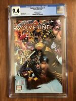 Marvel Return of Wolverine #1 Unknown Comics Edition Philip Tan Variant CGC 9.4