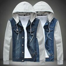 Leisure men's denim jacket
