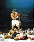 EARNIE SHAVERS SIGNED AUTOGRAPHED 8X10 PHOTO  MUHAMMAD ALI PHOTO - SHAVERS HOLO