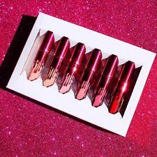 6pcs Women Beauty Makeup Matte Lip Gloss Lipstick Waterproof Long Lasting