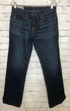 ABERCROMBIE & FITCH 30x30 Classic Straight Blue Jeans Button Fly