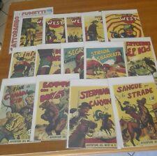Le avventure del west serie Yuma 1-14  ristampa Anastatica - ed.Audace Magazzino