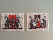 Liechtenstein 1982 SG#786-7 Europa MNH.