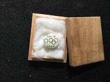 1964 TOKYO OLYMPIC PIN BADGE JAPAN PINS