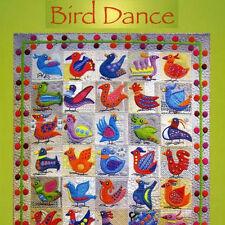 BIRD DANCE Sue Spargo NEW BOOK Applique Embroidery Quilt Sicilian Tiles Folk Art