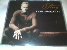 STING - SEND YOUR LOVE - UK PROMO CD SINGLE