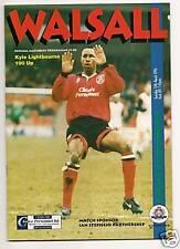 Walsall v Crewe Alexandra 12/3/96
