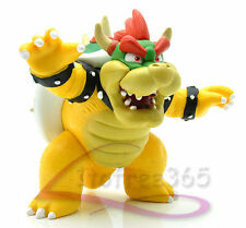 "3.5"" Super Mario Brothers KOOPA BOWSER Figure Doll Toy MS1494"