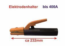 Elektrodenhalter bis 400 A, isolierter Griff ca  232 mm, Elektrodenzange/Klemme