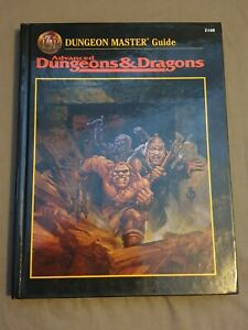 Dungeon Master Guide 2160 *1st print* 1995 Advanced Dungeons & Dragons Hardback.