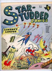 STAR STUDDED COMICS #4 (Texas Trio 1964) FN+ condition NO RES!