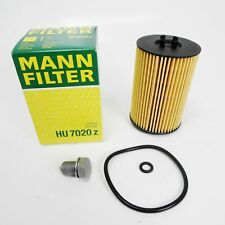 Ölfilter MANN HU7020z + Ölablassschraube FEBI  Audi Seat Skoda VW 1,6l 2,0l TDI