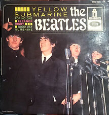 THE BEATLES - YELLOW SUBMARINE - FRENCH EP - MEO 126 EMI ODEON - FRANCE 1966