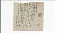 Prussia V Meschede Handwritten. on Quadrat. Postschein 1832