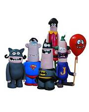 DC Comics Collectibles Nation Aardman Batman Superman Action Figure 5 Pack