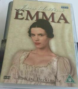 """Emma DVD Jane Austens - Kate Beckinsale """" Producer of Pride and Prejudice """""""