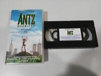 ANTZ HORMIGAZ VHS CINTA TAPE EDICION ESPAÑA DREAMWORKS CASTELLANO - 2T