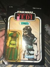 Unpunched Star Wars KENNER 1983 NIKTO Return Of The Jedi Action Figure ROTJ