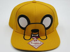 Adventure Time Jake Yellow Bioworld Collectible Snapback Hat SALE
