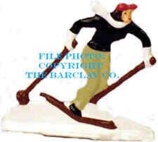 Down-Hill Skiier - Vintage Stlye German Flat Figure