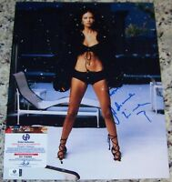 VICTORIA SECRET SUPERMODEL Adriana Lima Signed Auto 11x14 Photo GAI GA GV COA*
