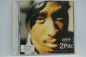 2Pac - Greatest Hits  2xCD Album (Malaysia Edition)