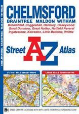 Chelmsford Street Atlas par géographes' A-Z CARTE Co Ltd Livre de poche 978178